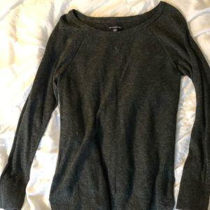 AEO grey sweater size medium
